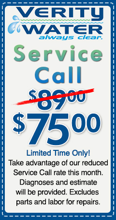 Verity Website Coupons - 75 Service Call